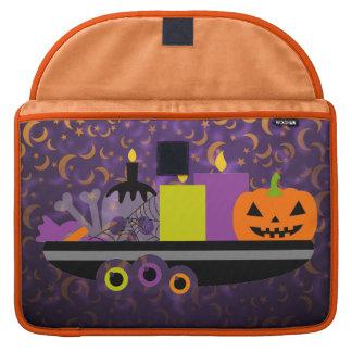 Pumpkin & Candles Potpourri Purple Sleeve For MacBooks