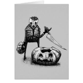 Pumpkin Carver Card