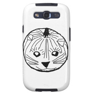 Pumpkin Cat Galaxy SIII Case