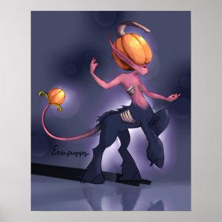 Pumpkin Centaur Poster