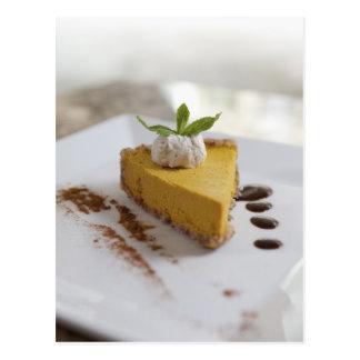 Pumpkin Cheesecake Postcard