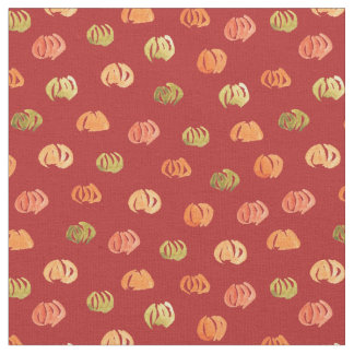 Pumpkin Combed Cotton Fabric