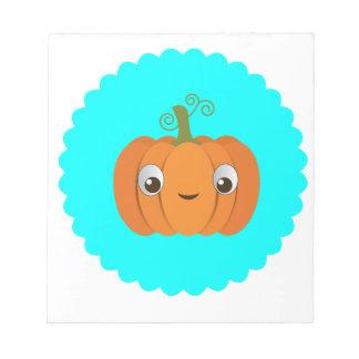 Pumpkin design notepad