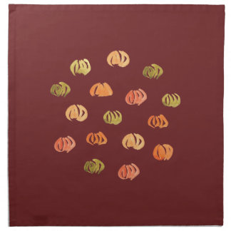 Pumpkin Dinner Cloth Napkins