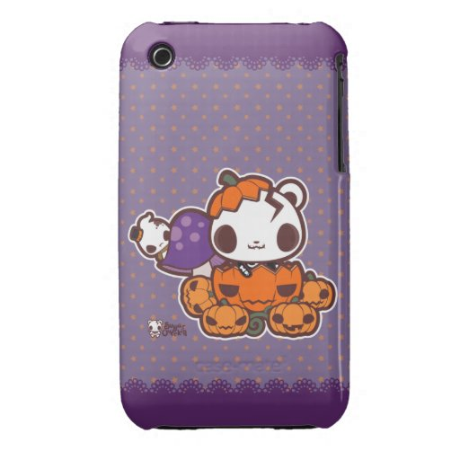Pumpkin Disguise iPhone 3 Cover