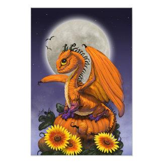 Pumpkin Dragon 13x19 Print