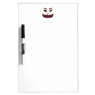 Pumpkin Dry Erase Board