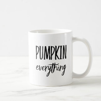 Pumpkin Everything Coffee Mug