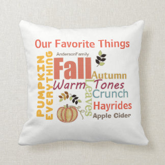 Pumpkin Everything Fall Square Pillow