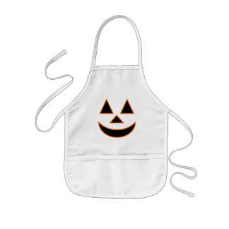 Pumpkin Face Holiday Design You Can Customize Kids Apron