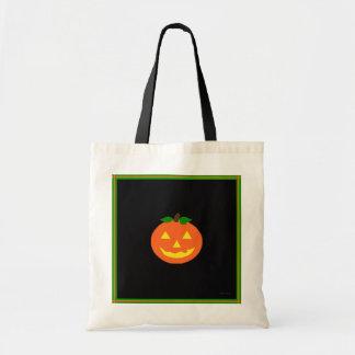 """""""Pumpkin Face"""" Treats Tote Tote Bag"""