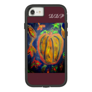 Pumpkin fall art Case-Mate tough extreme iPhone 8/7 case