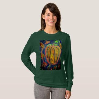 Pumpkin fall art T-Shirt