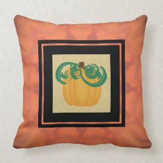 Pumpkin Fall Decorating Pillow