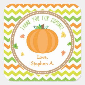 Pumpkin Favor Tags / Pumpkin Stickers
