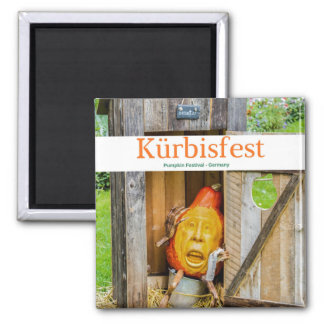 Pumpkin Festival Collectible Magnet