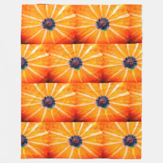 pumpkin fleece blanket