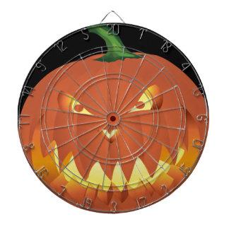 Pumpkin for Halloween... Dartboard