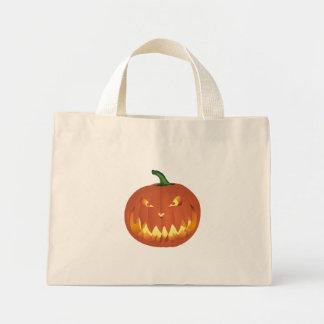 Pumpkin for Halloween... Mini Tote Bag
