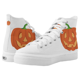 Pumpkin for Halloween... Printed Shoes