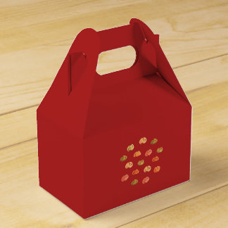 Pumpkin Gable Favor Box