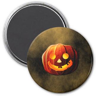 Pumpkin Ghost 7.5 Cm Round Magnet