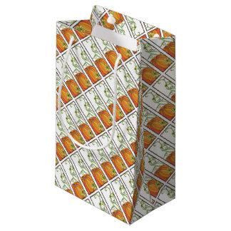 Pumpkin Gift Wrap Small Gift Bag