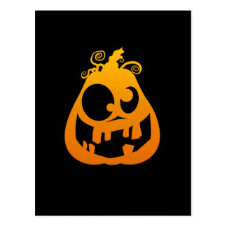 Pumpkin Goofy Postcard