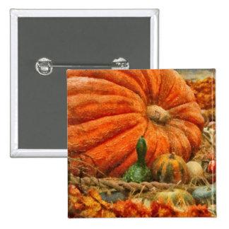 Pumpkin - Great Gourds Buttons