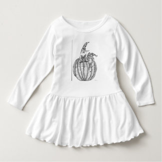 """Pumpkin Guru"" pen illustration by CFW Dress"