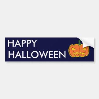 Pumpkin - Halloween Bumper Sticker