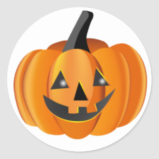 Pumpkin Halloween Sticker