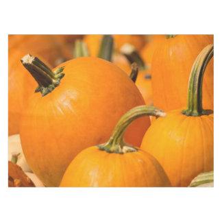 "Pumpkin Harvest Custom Cotton Tablecloth, 52""x70"" Tablecloth"