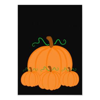 Pumpkin Harvest Invite