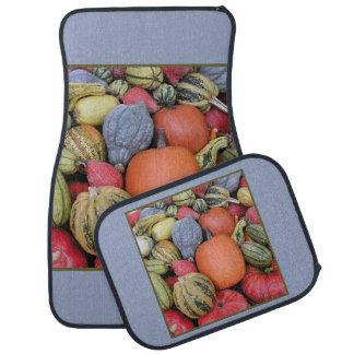 Pumpkin Harvest R02.1.1.1 Car Mat