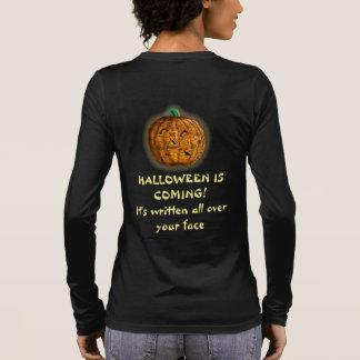 PUMPKIN HEAD HALLOWEEN by Slipperywindow Long Sleeve T-Shirt