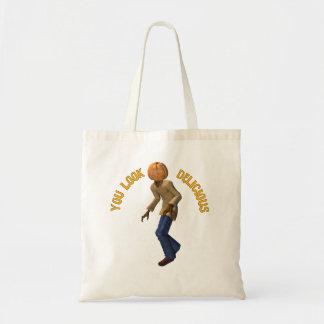 Pumpkin Head Monster Budget Tote Bag