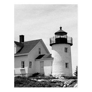 Pumpkin Island Lighthouse Postcard