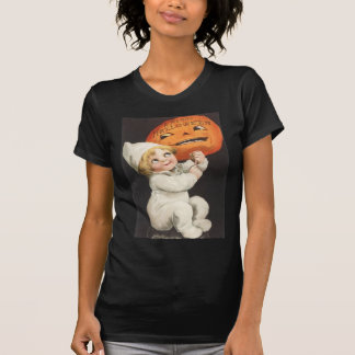 Pumpkin Jack O Lantern Blonde Boy T-Shirt
