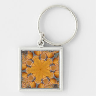 Pumpkin Kaleidoscope Key Chain