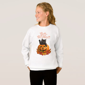 Pumpkin Kitty Sweatshirt