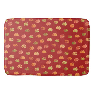 Pumpkin Large Bath Mat
