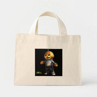 Pumpkin Man Tote Bags