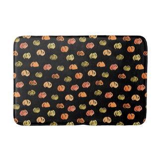 Pumpkin Medium Bath Mat