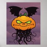 Pumpkin Monster Posters