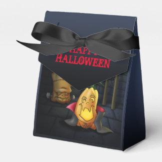 Pumpkin Monsters Halloween Favor Box