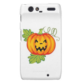 Pumpkin Motorola Droid RAZR Cover