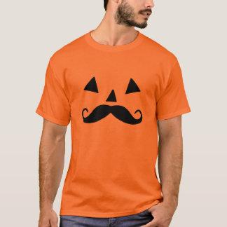 Pumpkin Moustache T-Shirt