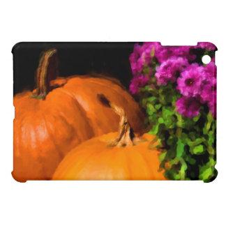 Pumpkin Mums iPad Mini Cover