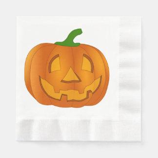 Pumpkin Napkins Disposable Napkins